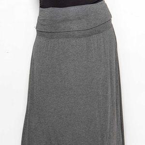 💋 SWAK Fold Over the Waist Maxi Skirt 💋